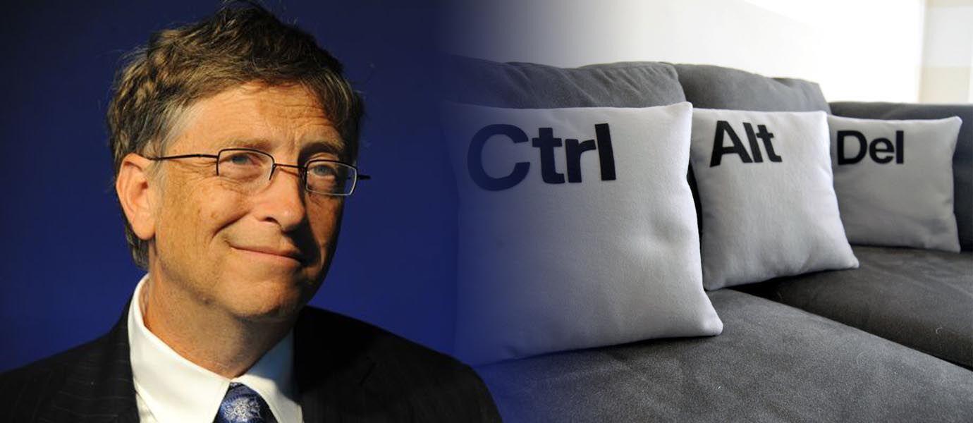 Bill Gates: CTRL+ALT+DEL adalah Kesalahan