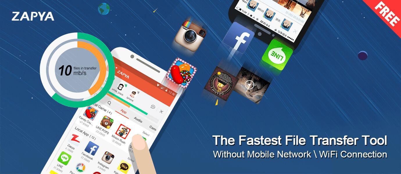 Cara Kirim File dengan Smartphone tanpa Menggunakan Internet dan Bluetooth