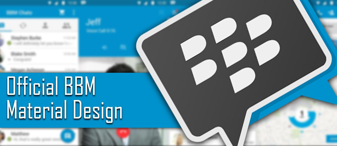 Ini Dia BBM Resmi Terbaru dengan Fitur Private Chat dan Material Design