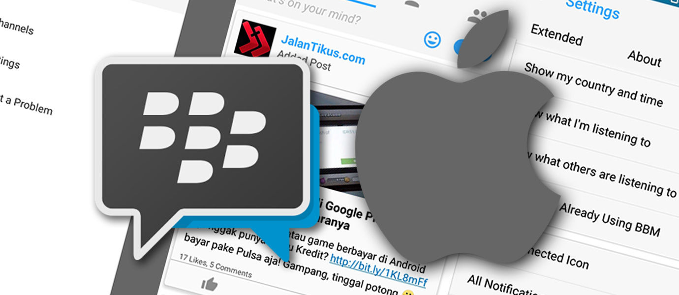 BBM Mod iOS: Ubah Tampilan BBM Android Seperti BBM iPhone