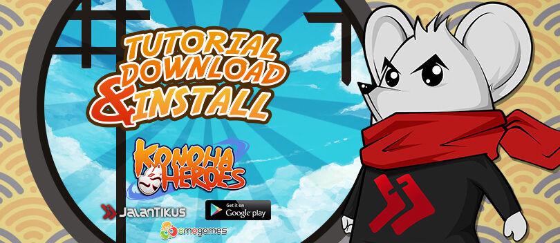 Panduan Install APK Konoha Heroes