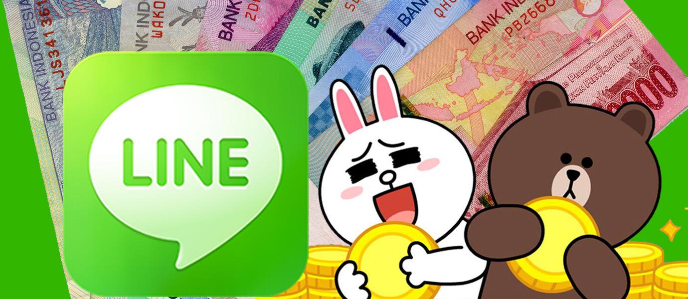 Inilah Cara Menukar Koin Gratis LINE Kamu dengan Uang Beneran!