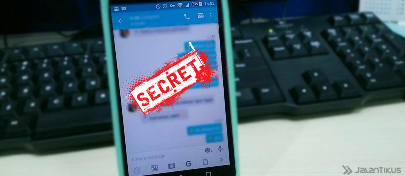 Cara Mengirim Pesan Rahasia di BBM for Android