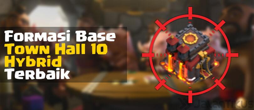 Kumpulan Formasi Base Town Hall 10 Hybrid Clash of Clans Terbaik