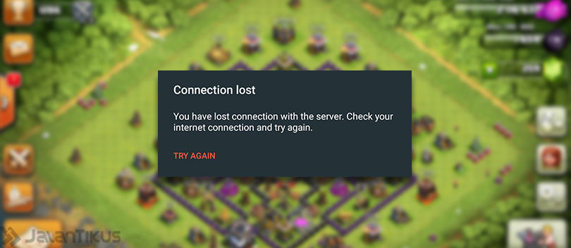 4 Solusi Terbaik Mengatasi Connection Lost di Clash of Clans (COC)