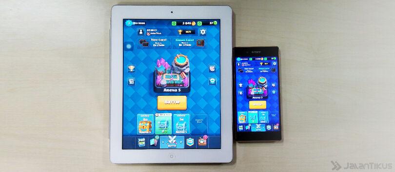 Cara Memindahkan Akun Clash Royale dari iOS ke Android dan Sebaliknya