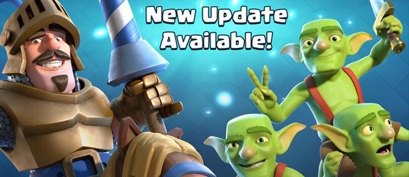 Inilah Fitur Terbaru di Update Clash Royale Versi 1.2.1