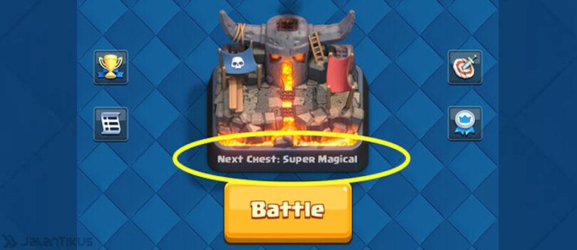 Cara Mengetahui Chest yang Didapat Setelah Battle Clash Royale