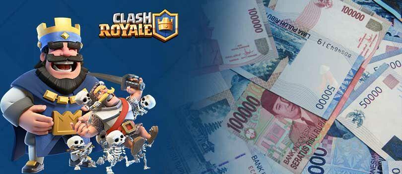 Daftar Harga Jual Akun ID Clash Royale