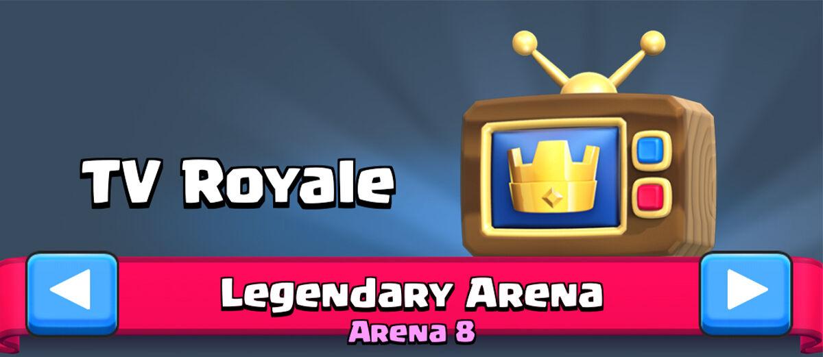 Cara Agar Pertandingan Kamu Masuk di TV Royale Clash Royale