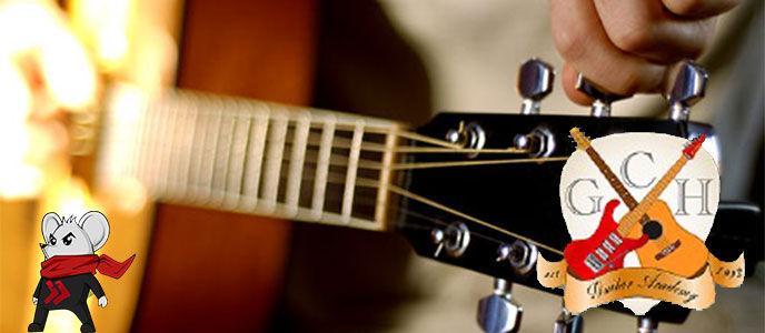 Cara Menyetem Senar Gitar menggunakan Guitar Tuner