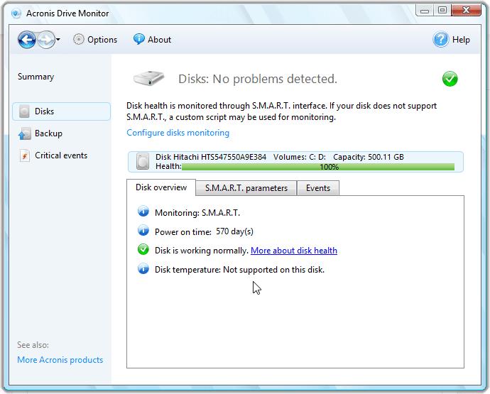 Acronis Drive Monitor Aa6f1