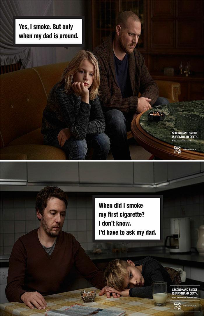 Ilustrasi Bahaya Merokok Kreatif Borredpanda 18