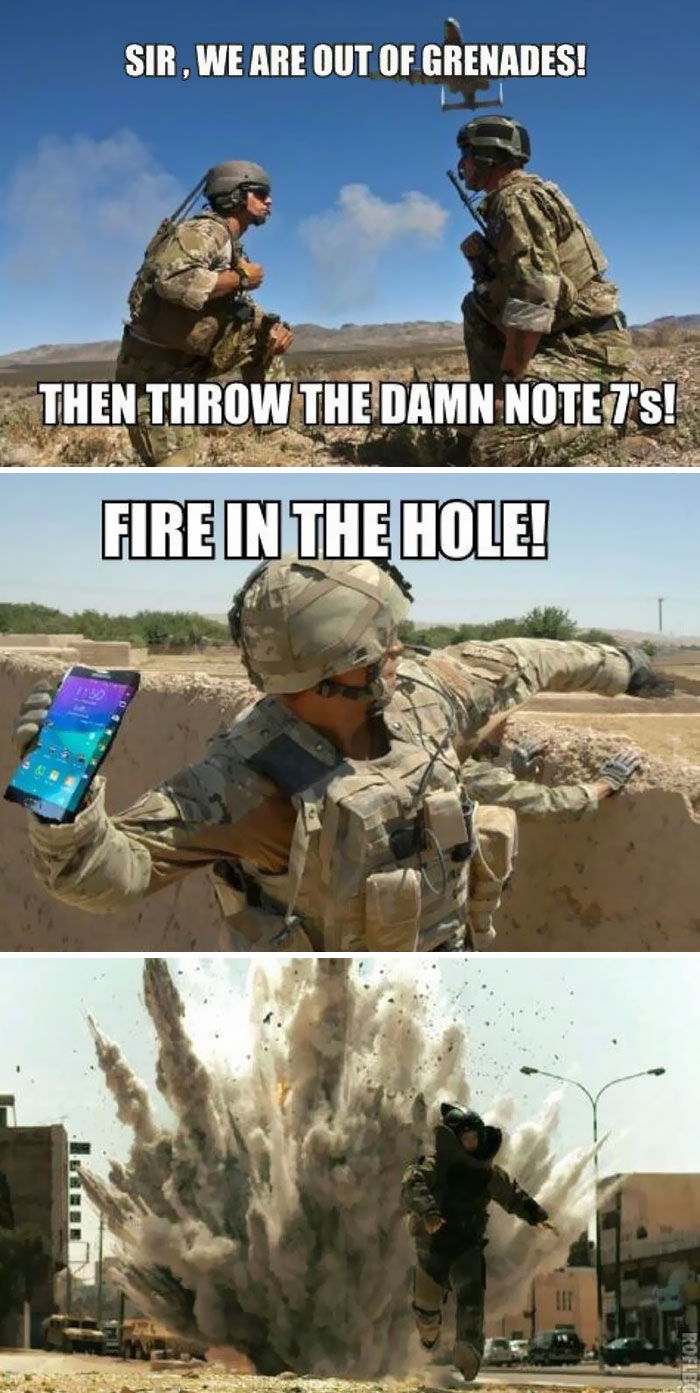 Respon Lucu Samsung Galaxy Note 7 Meledak 8