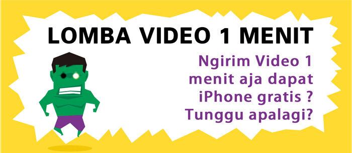 Event Zapya Lomba Membuat Video