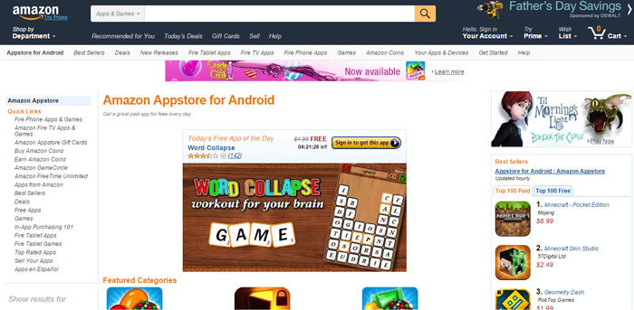 Cara Install Amazon Appstore Di Android 5