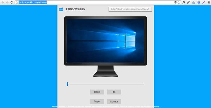 Cara Download Windows 10 Hero Wallpaper Warna Favorit 1