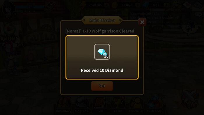Cara Mendapatkan Gems Gratis Line Dragonica Mobile 3
