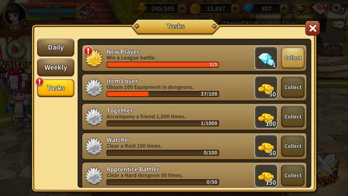 Cara Mendapatkan Gems Gratis Line Dragonica Mobile 5