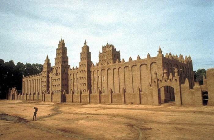 Arsitektur Masjid Di Mali 22388
