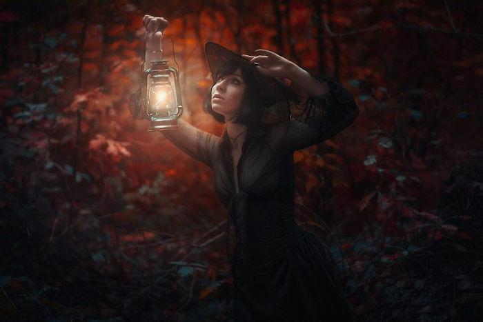 Pancaran Cahaya Lampion Yang Mengagumkan