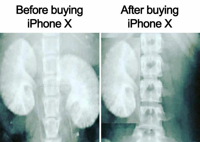 Meme Iphone X 1