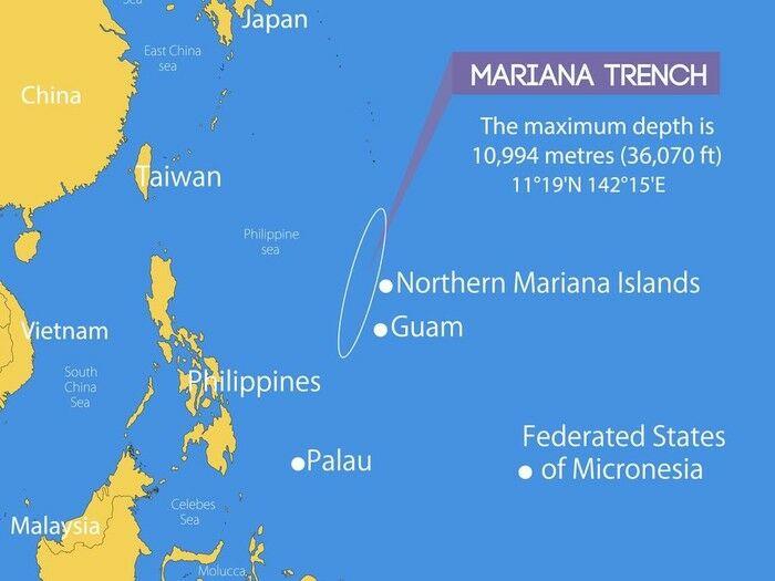 Letak Palung Mariana 2dc00