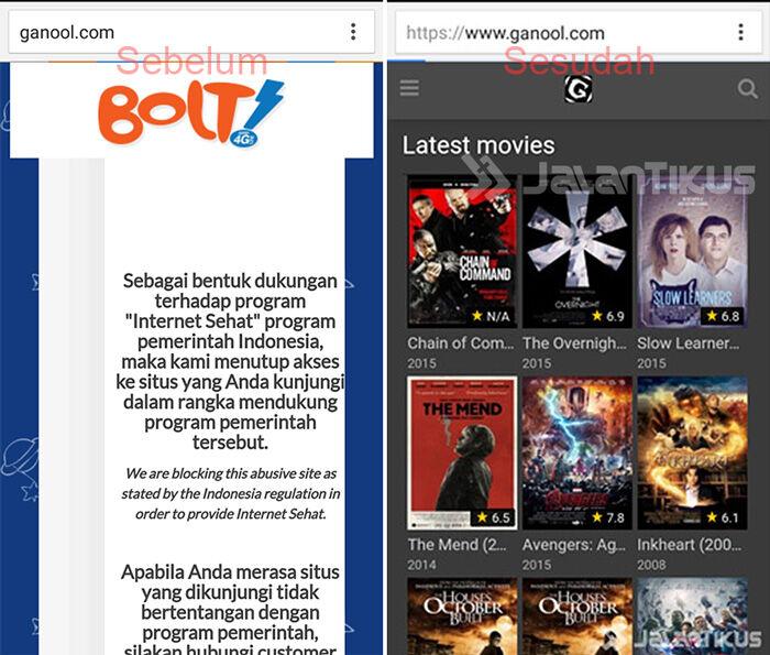 Cara Download Film Ganool Android 9