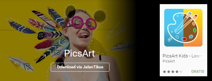 Download Picsart Kekinian