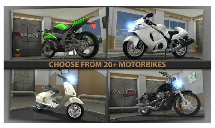 Traffic Rider Apk Mod 130c9