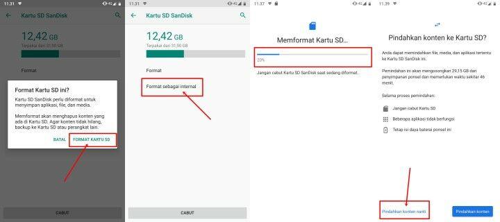 Cara Memindahkan Aplikasi ke Kartu SD Tanpa Aplikasi Tambahan