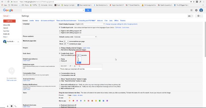 Cara Membatalkan E-mail yang Sudah Terkirim di Gmail ...