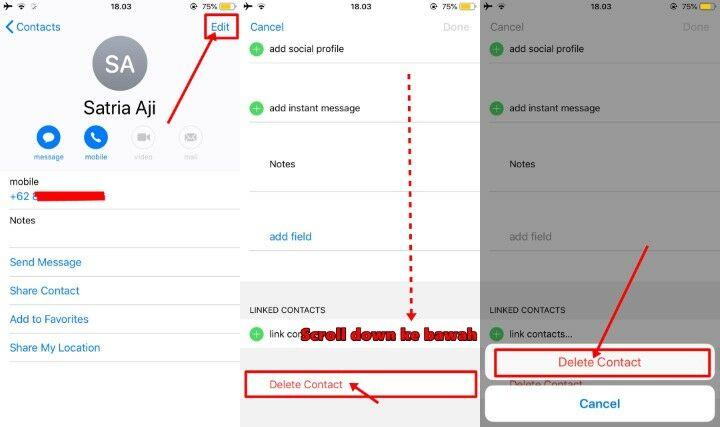 Cara Menghapus Semua Kontak Di Iphone 6 2 8c73d