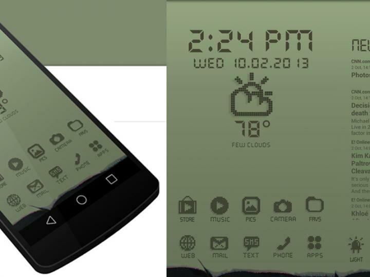 tampilan nokia jadul android banner