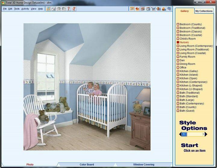 Total 3D Home Design Deluxe 11 1 De71a