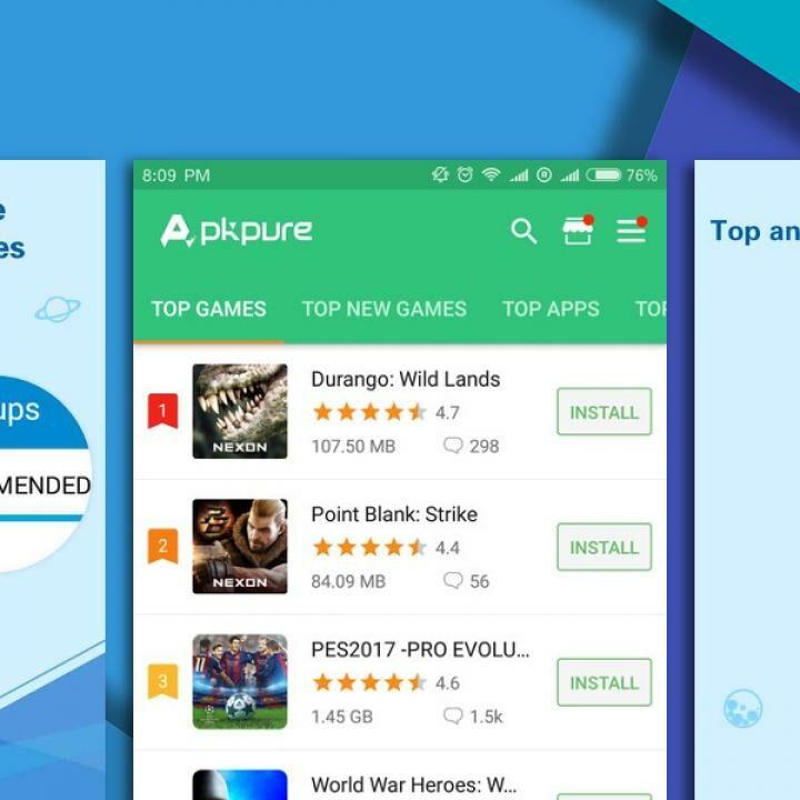 layanan google play apkpure terbaru
