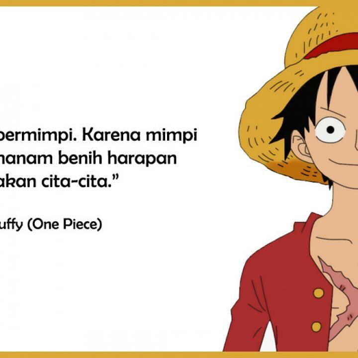 50 Kata Kata One Piece Paling Bijak Penuh Makna Jalantikus