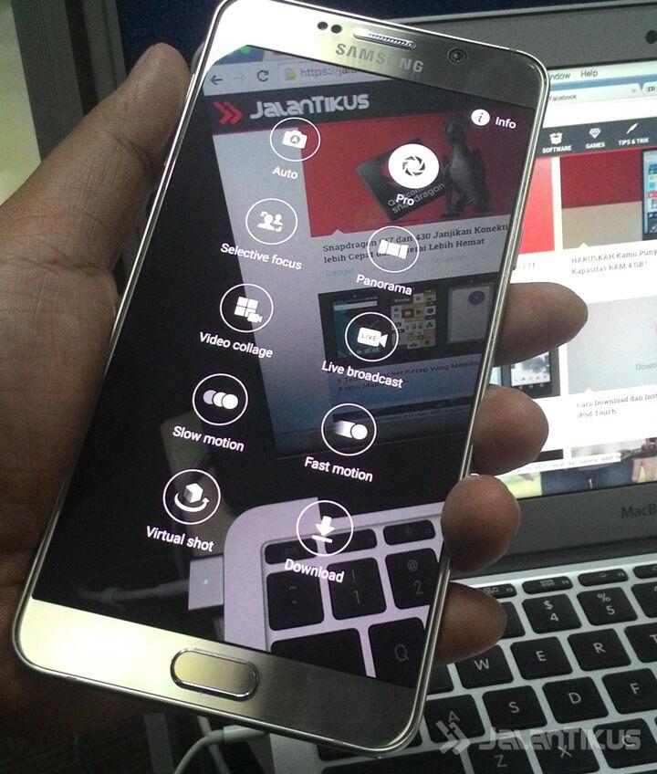 Trik Kamera Samsung Galaxy Note 5 5