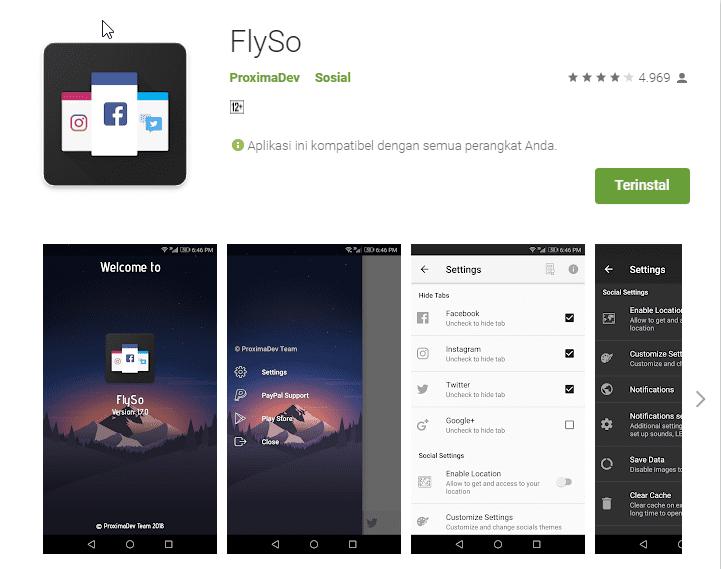 FlySo Aplikasi Di Google Play 71a91