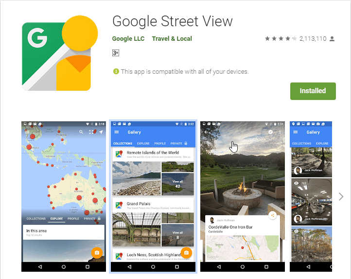 Google Street View Apps On Google Play 96409