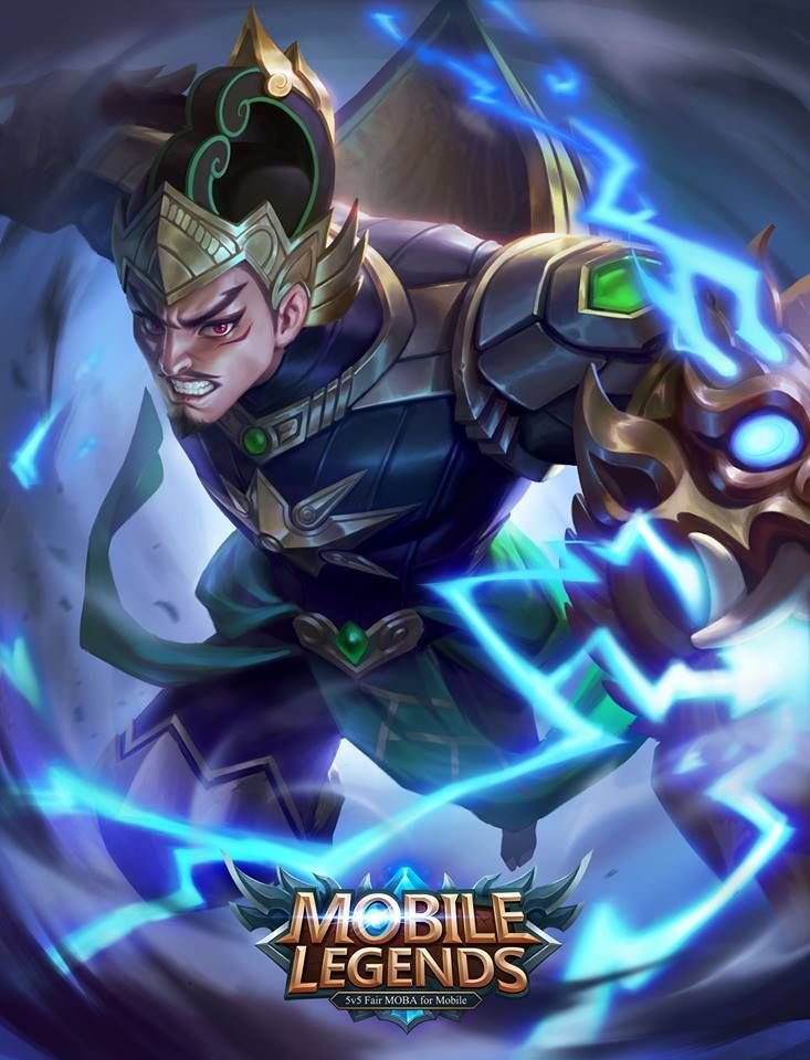 Wallpaper Mobile Legends Hero Gatotkaca