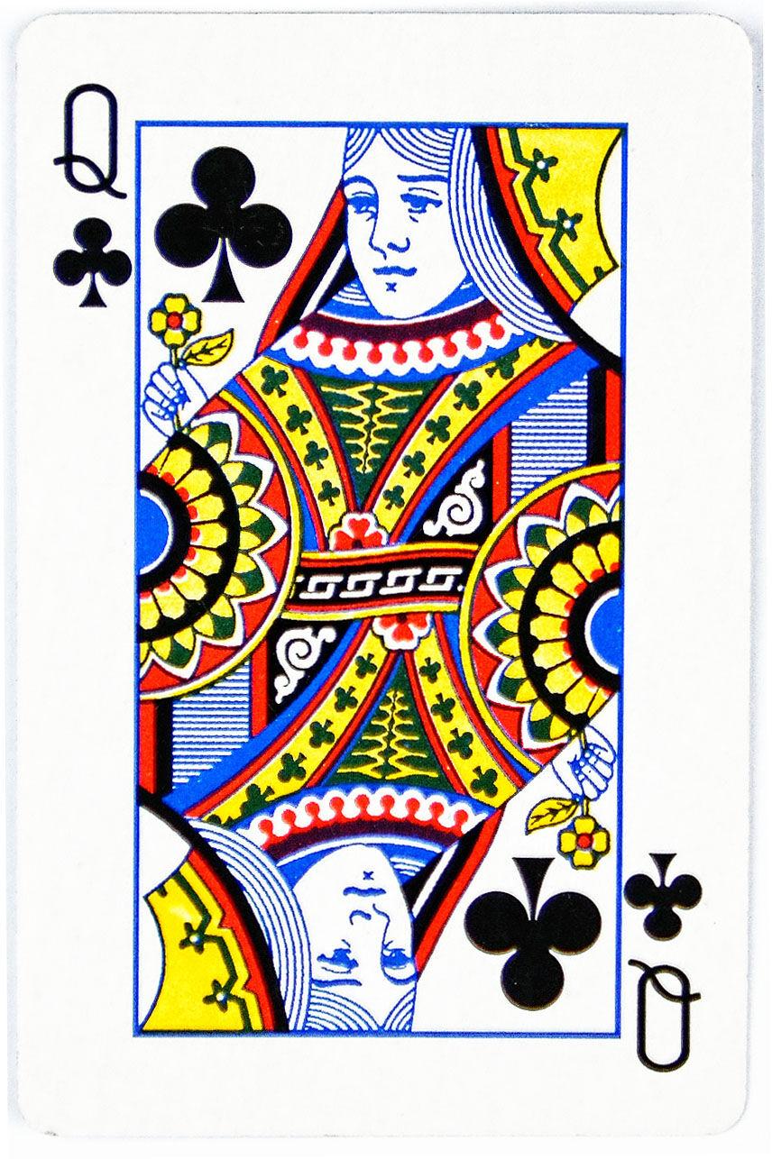 Queen Of Clubs Keriting2