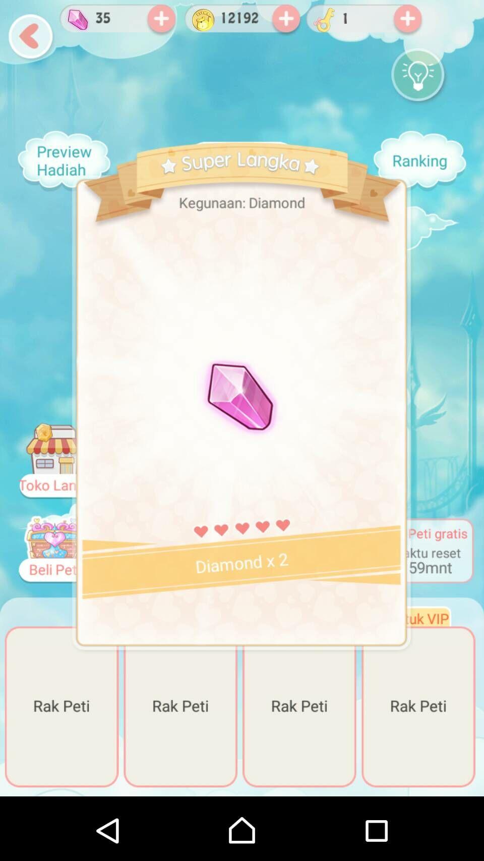 Diamond Gratis Di Dress Up Diary 5