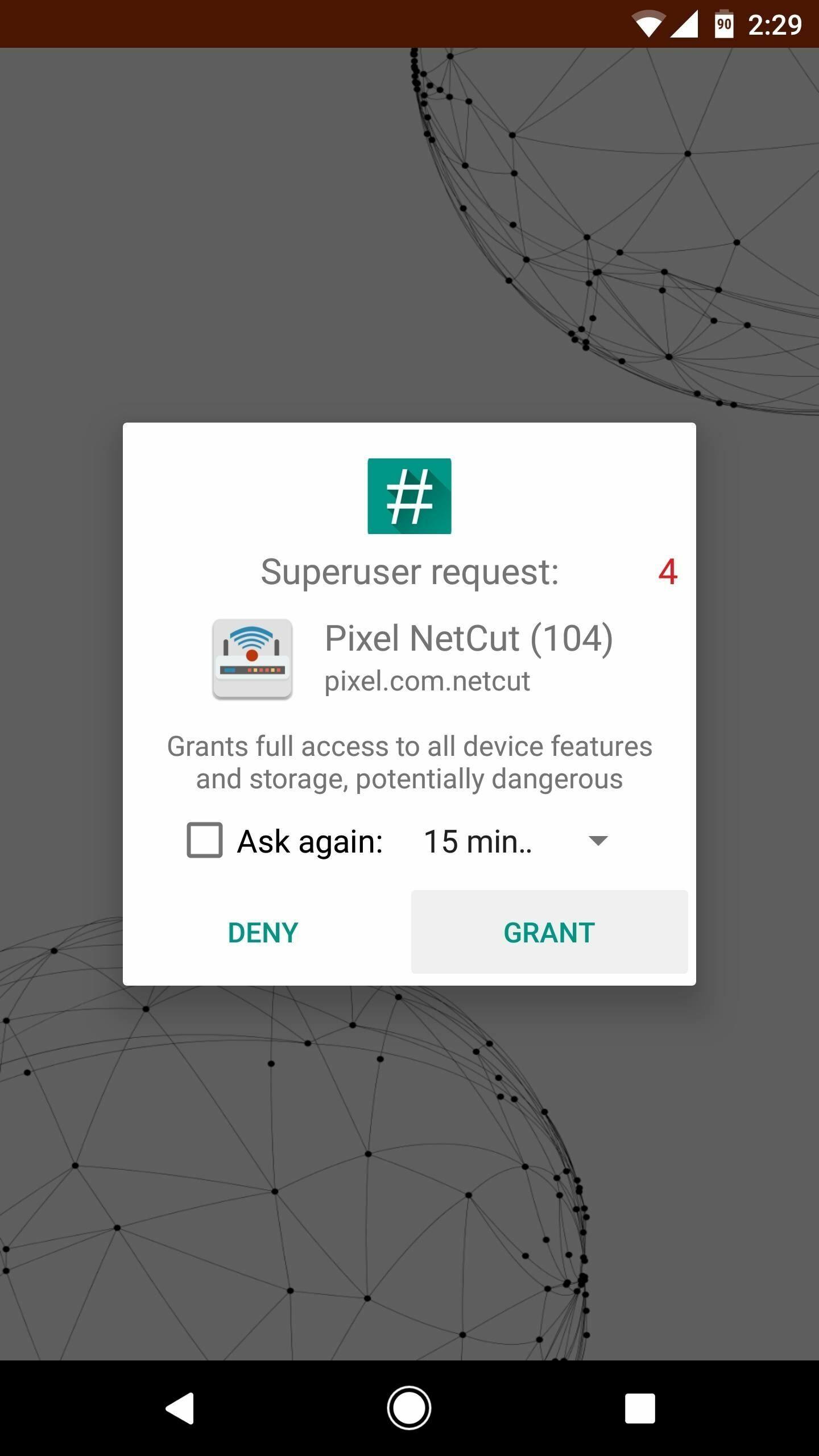 Cara Memutus Koneksi Internet Orang Lain Di Android 1