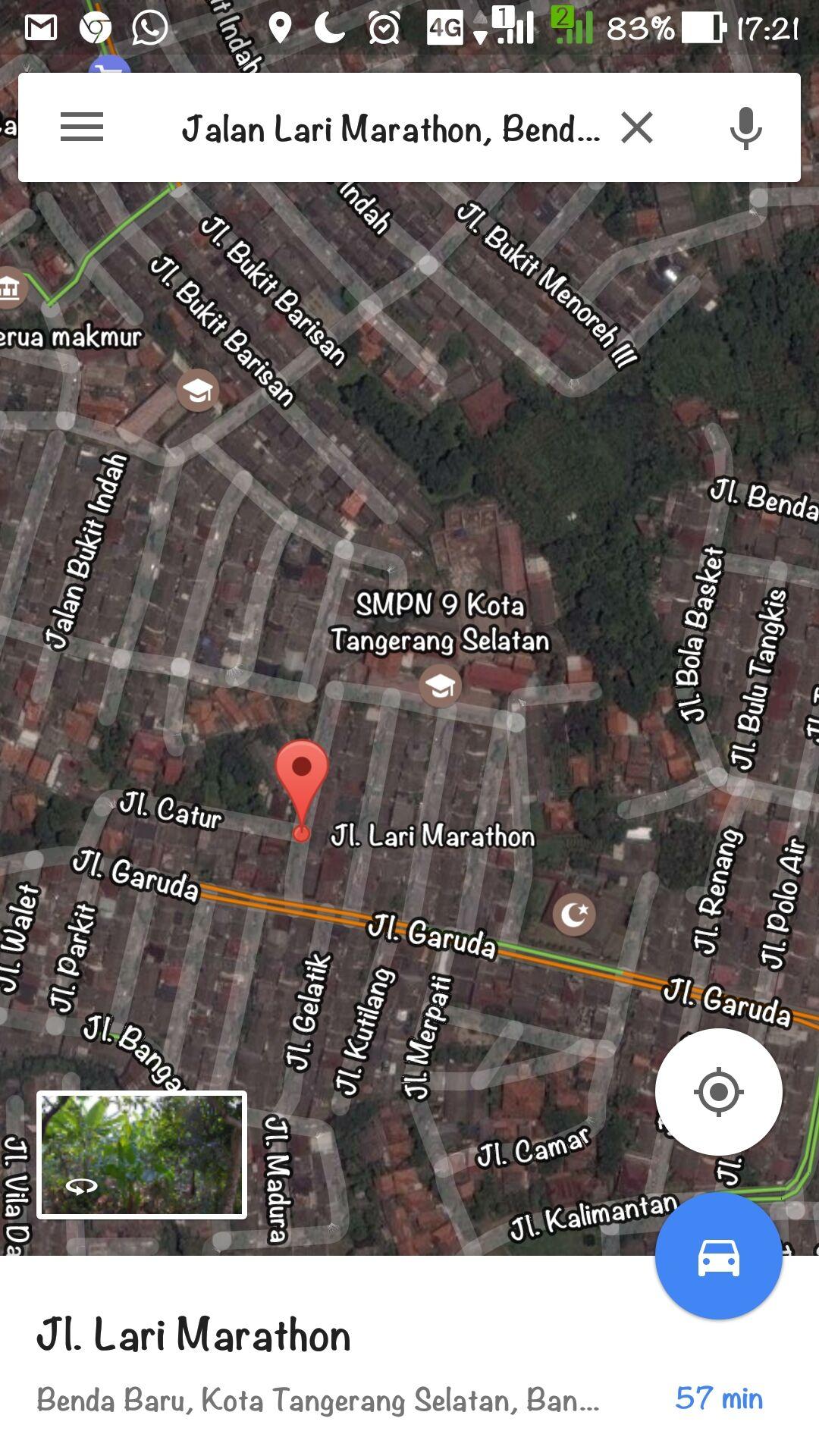 Nama Jalan Aneh Di Google Maps 1