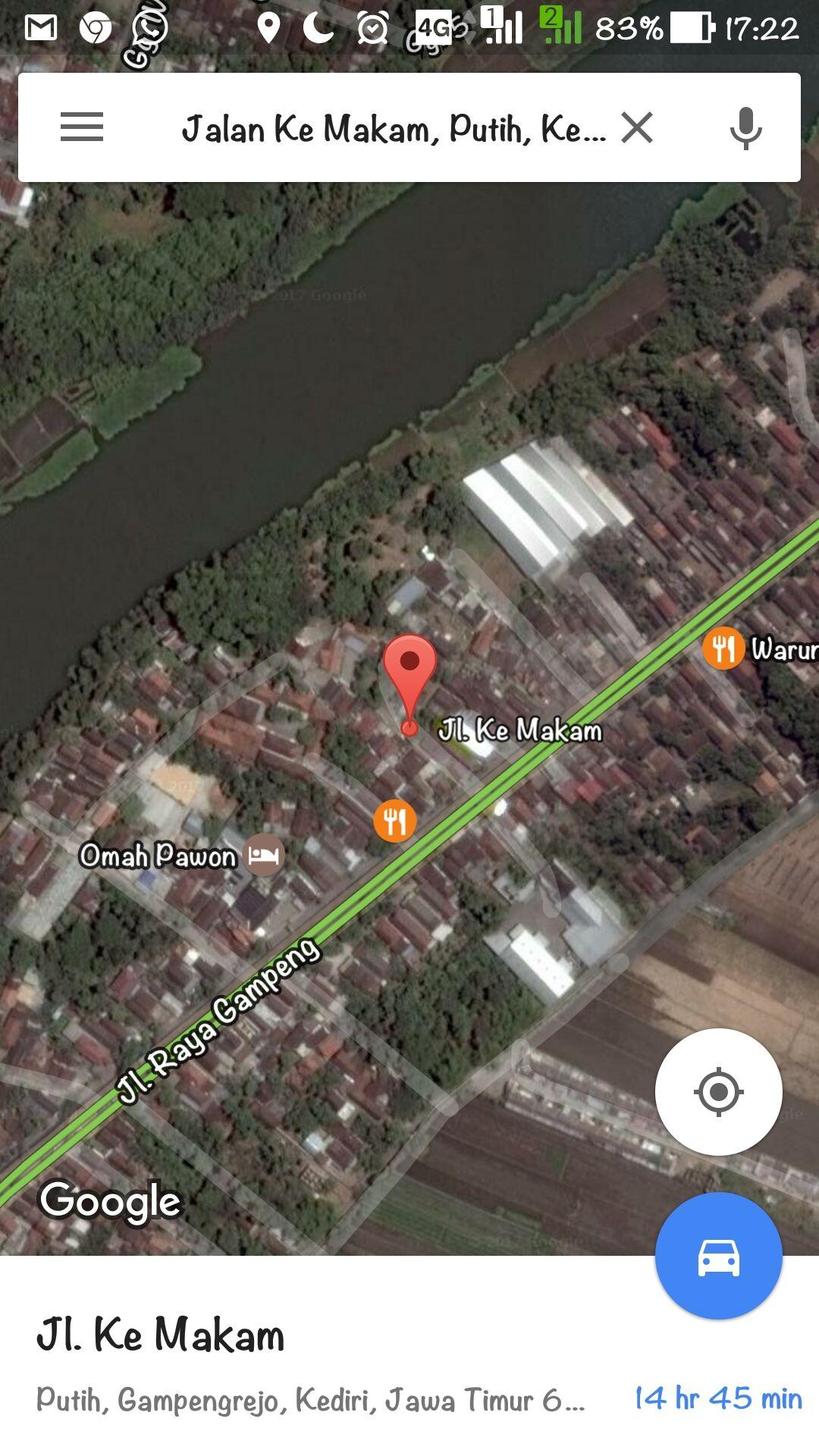 Nama Jalan Aneh Di Google Maps 3