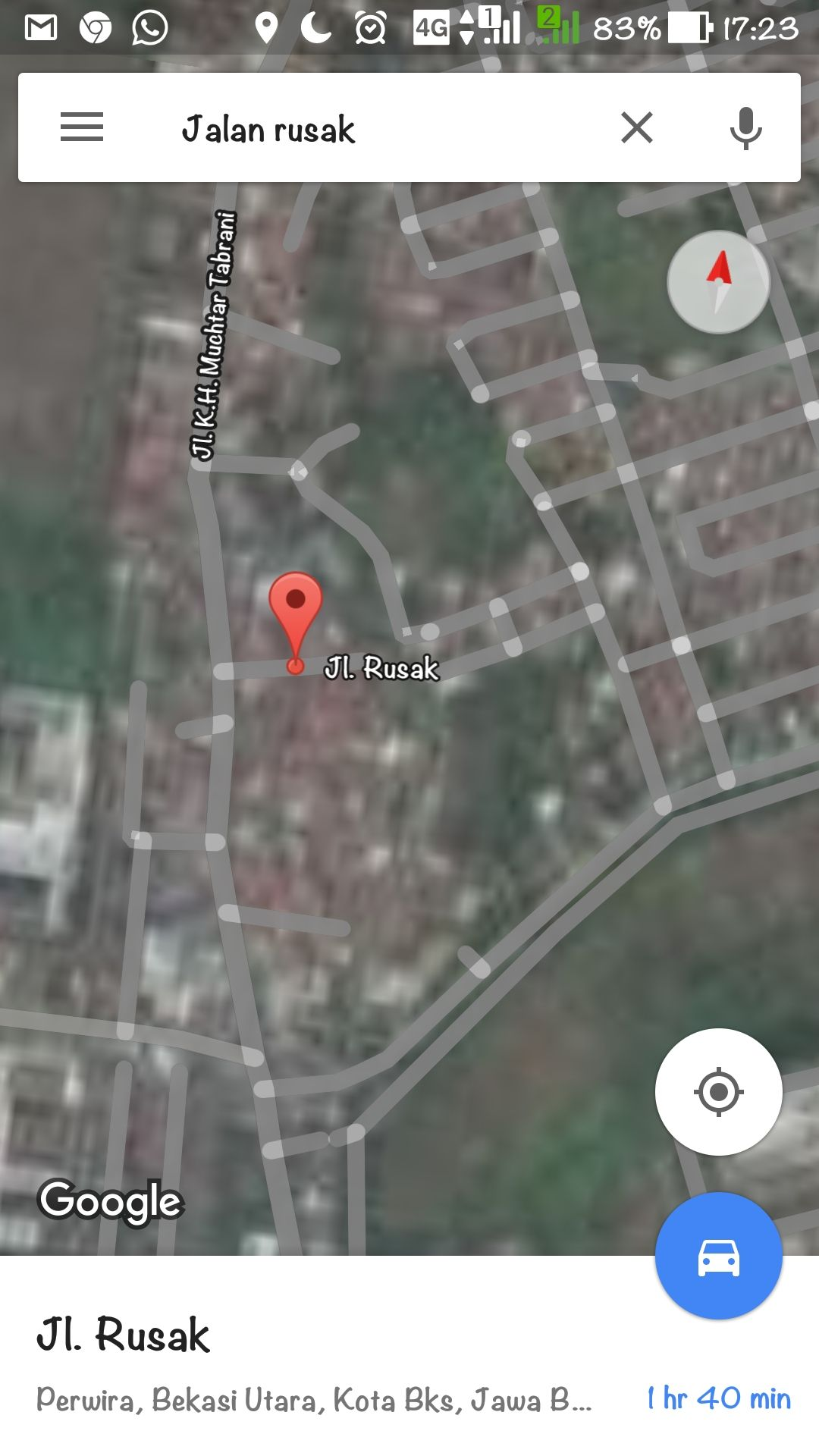 Nama Jalan Aneh Di Google Maps 5