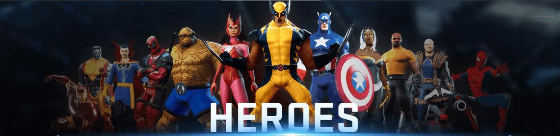Marvel Heroes 2015 All Hero