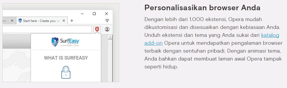 Opera Terbaru Pc