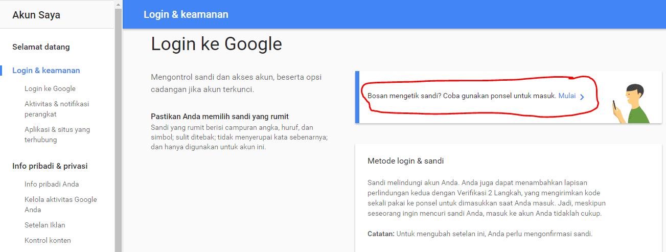 Login Ke Akun Google 2